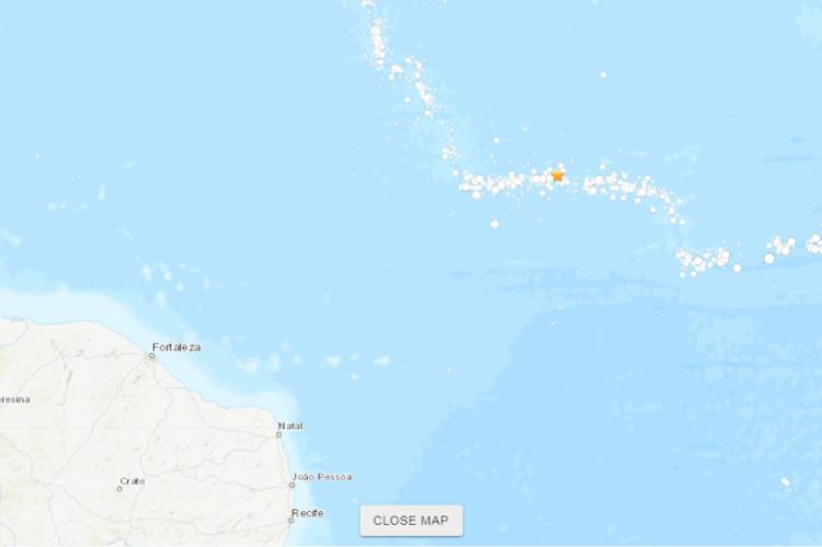 Histórico de abalos sísmicos mostra que diversos eventos parecidos já aconteceram no mesmo local