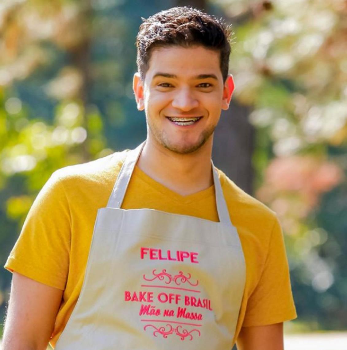 Fellipe Xenofonte participará da 5ª edição do reality show de confeitaria.