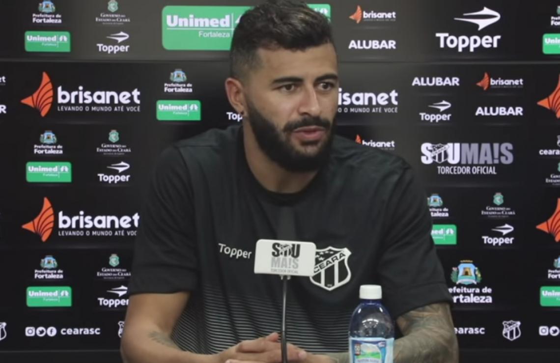 Jogador tem sido destaque no Ceará na Série A