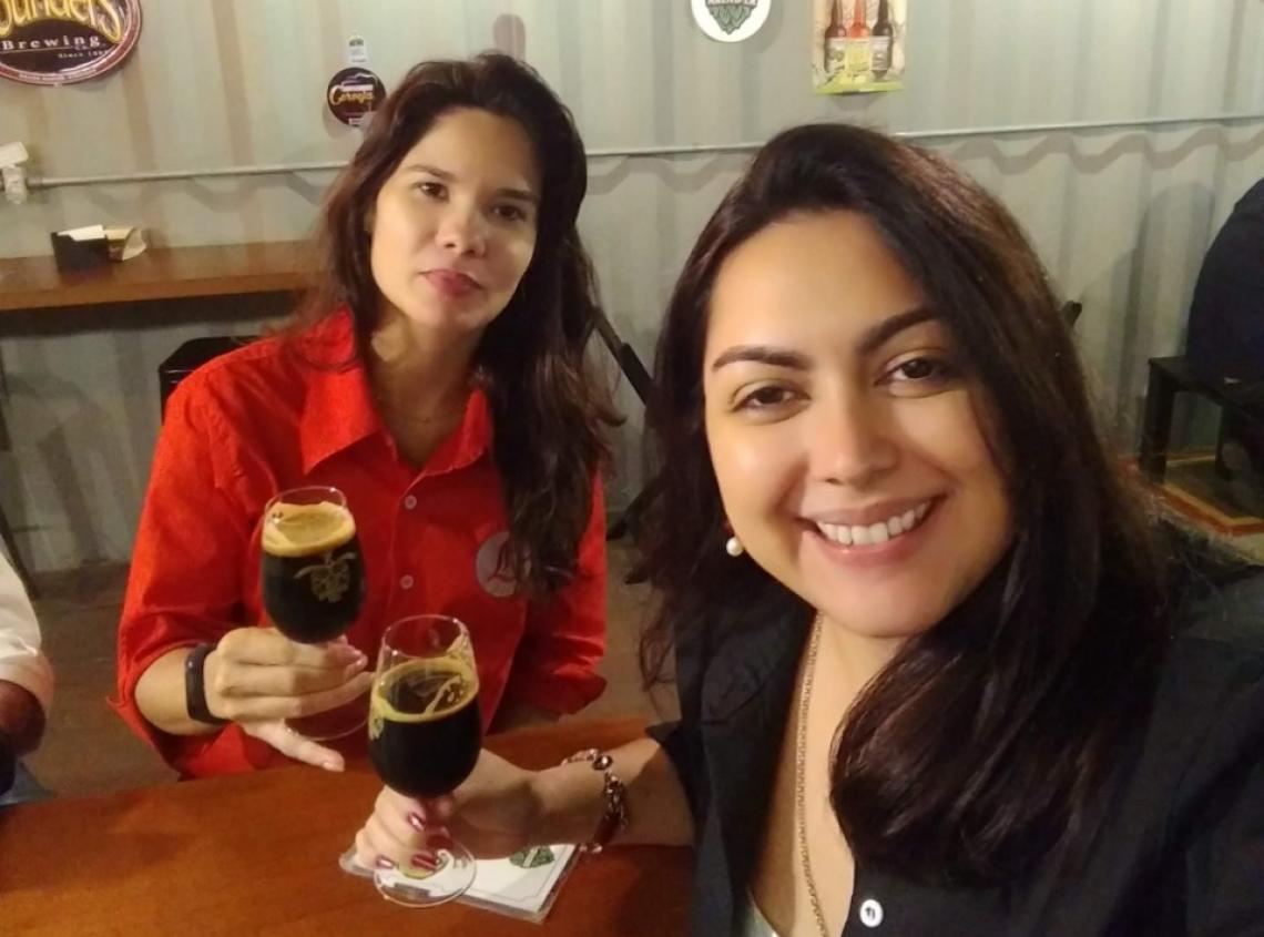 As beer sommeliers Lorena Lopes e Genne Kelly participam de três oficinas gratuitas em Fortaleza