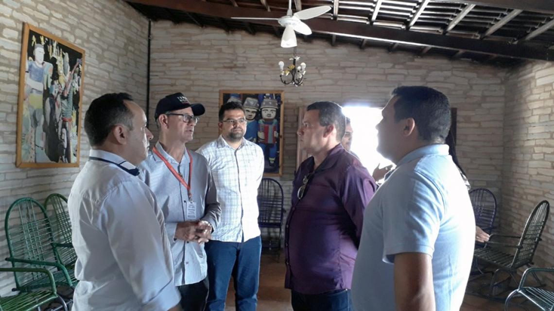 O deputado estadual Fernando Santana (PT) esteve em Santana do Cariri representando o Governador Camilo Santana (PT).