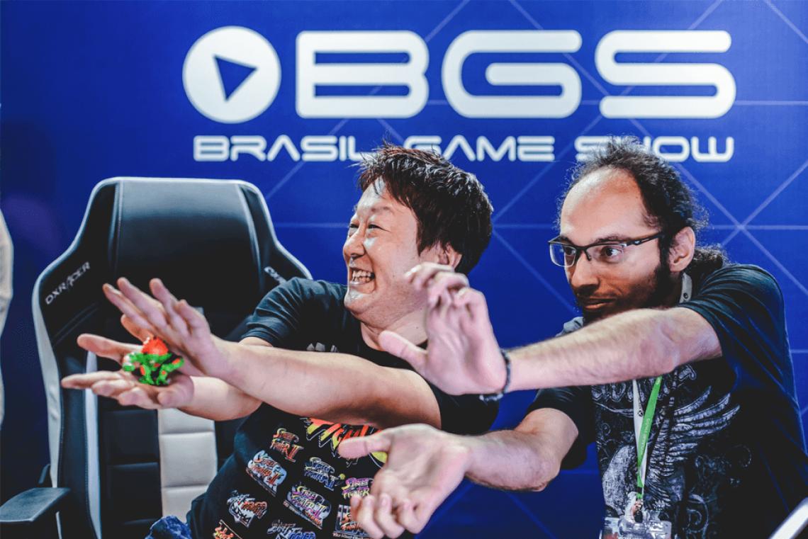 O sempre simpático produtor de Street Fighter, Yoshinori Ono, estará de volta à BGS em 2019