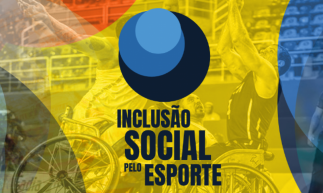 Logo especial Inclusão Social no Esporte