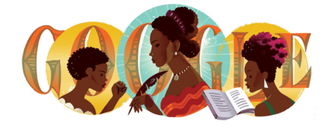 Maria Firmina dos Reis é considerada a primeira romancista brasileira e foi homenageada com ilustração do Google