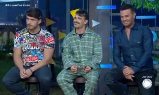 Jorge Souza, Lucas Viana e Rodrigo Phavanello estão na quinta roça de A Fazenda 11.