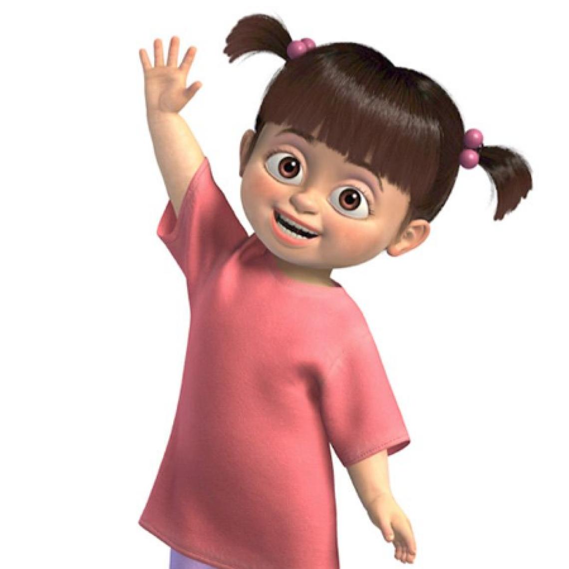 Personagem da Boo, da animação Monstros S.A