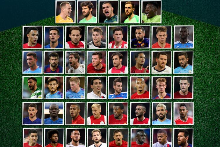 Cinco brasileiros estão presentes na lista de indicados (Foto: Reprodução/Twitter )
