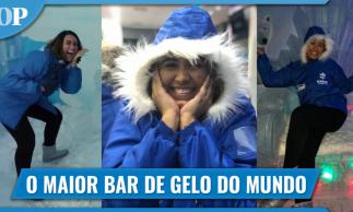 Maior bar de gelo do mundo, o Ice Bar é inaugurado em fortaleza
