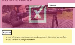 Boato viralizou nas redes sociais e foi verificado pelo Projeto Comprova