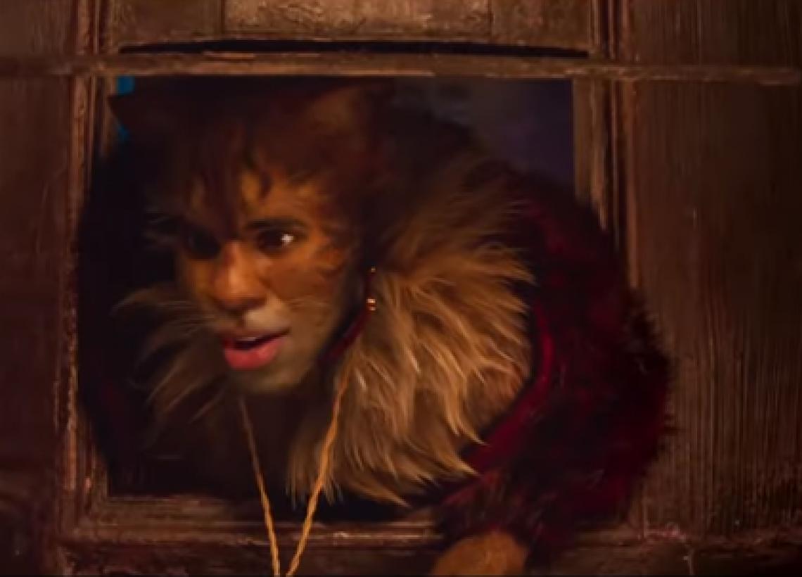 Jason Derulo em cena do filme Cats
