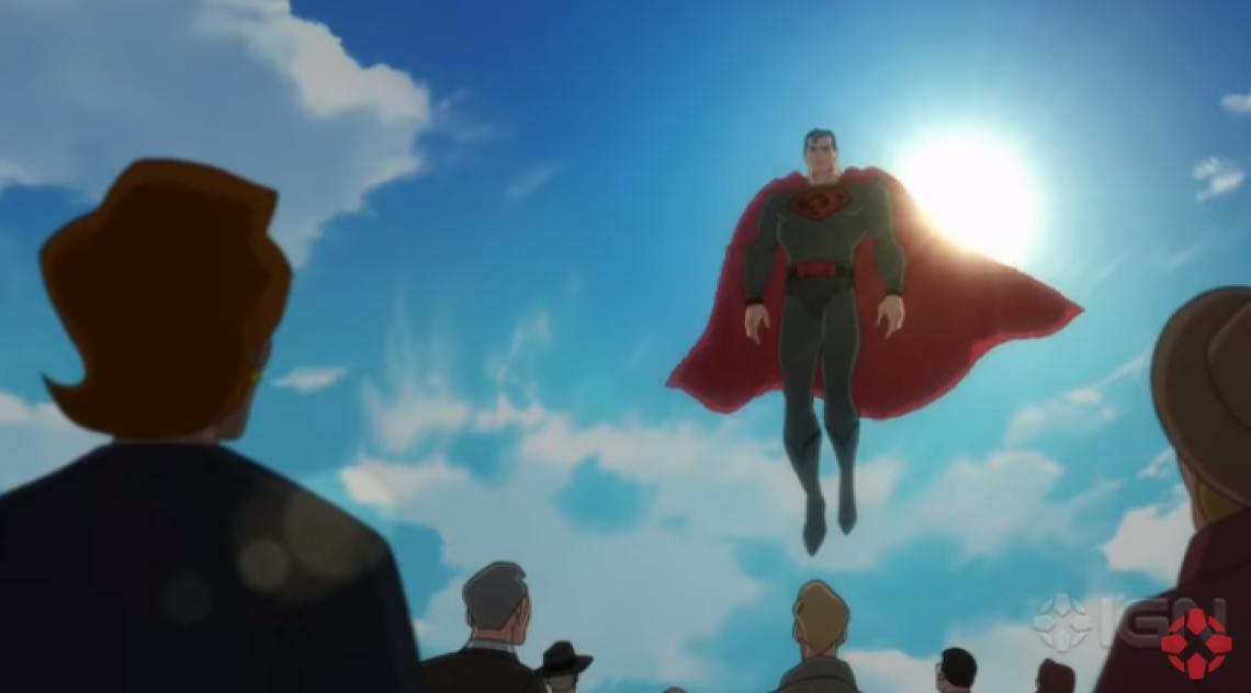 Cena de 'Superman - Entre a Foice e o Martelo'