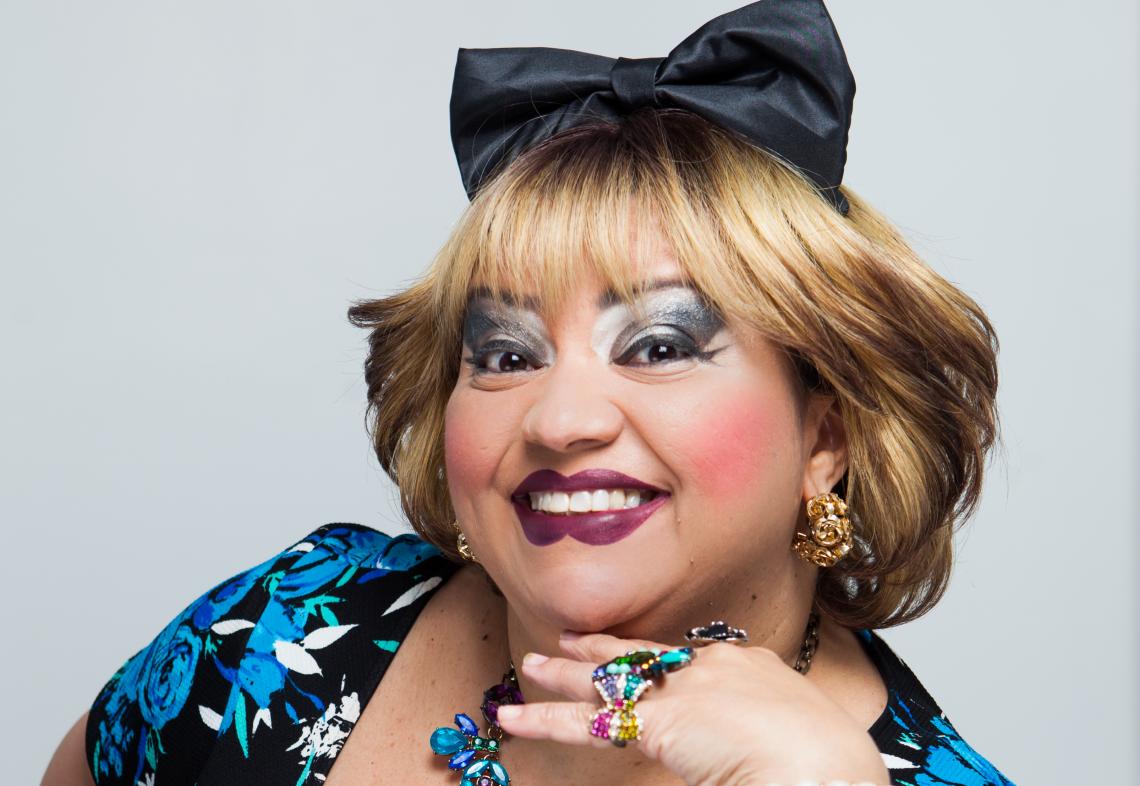 Rossicléa é personagem da comediante Valéria Vitoriano