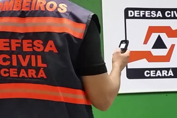 População pode cadastrar seu CEP para receber mensagens com alertas e orientações em caso de desastres naturais