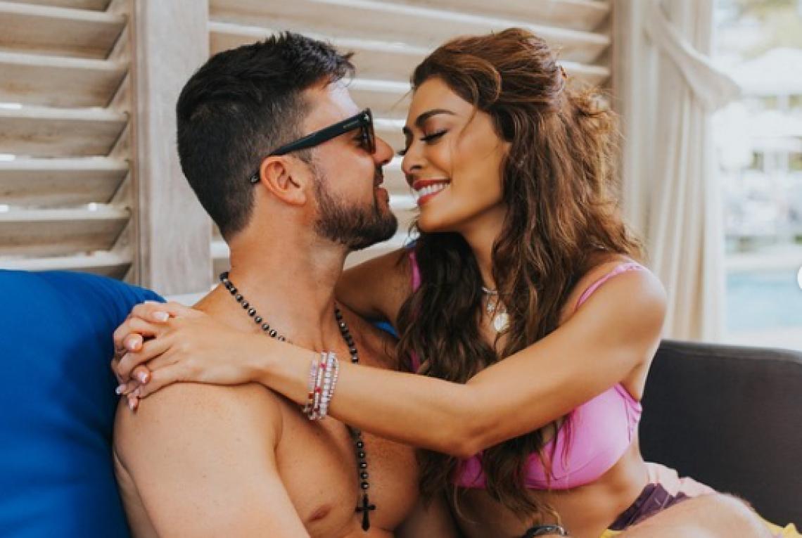 Juliana Paes faz declaração para marido