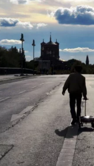 Artista alemão usou o Google Maps para criar um congestionamento falso