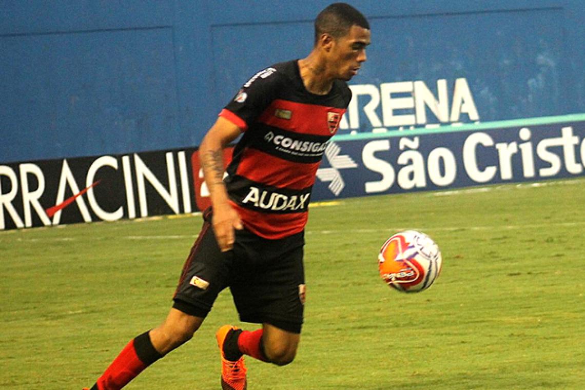 Alyson marcou um gol pelo Oeste em 2020, na Copa do Brasil