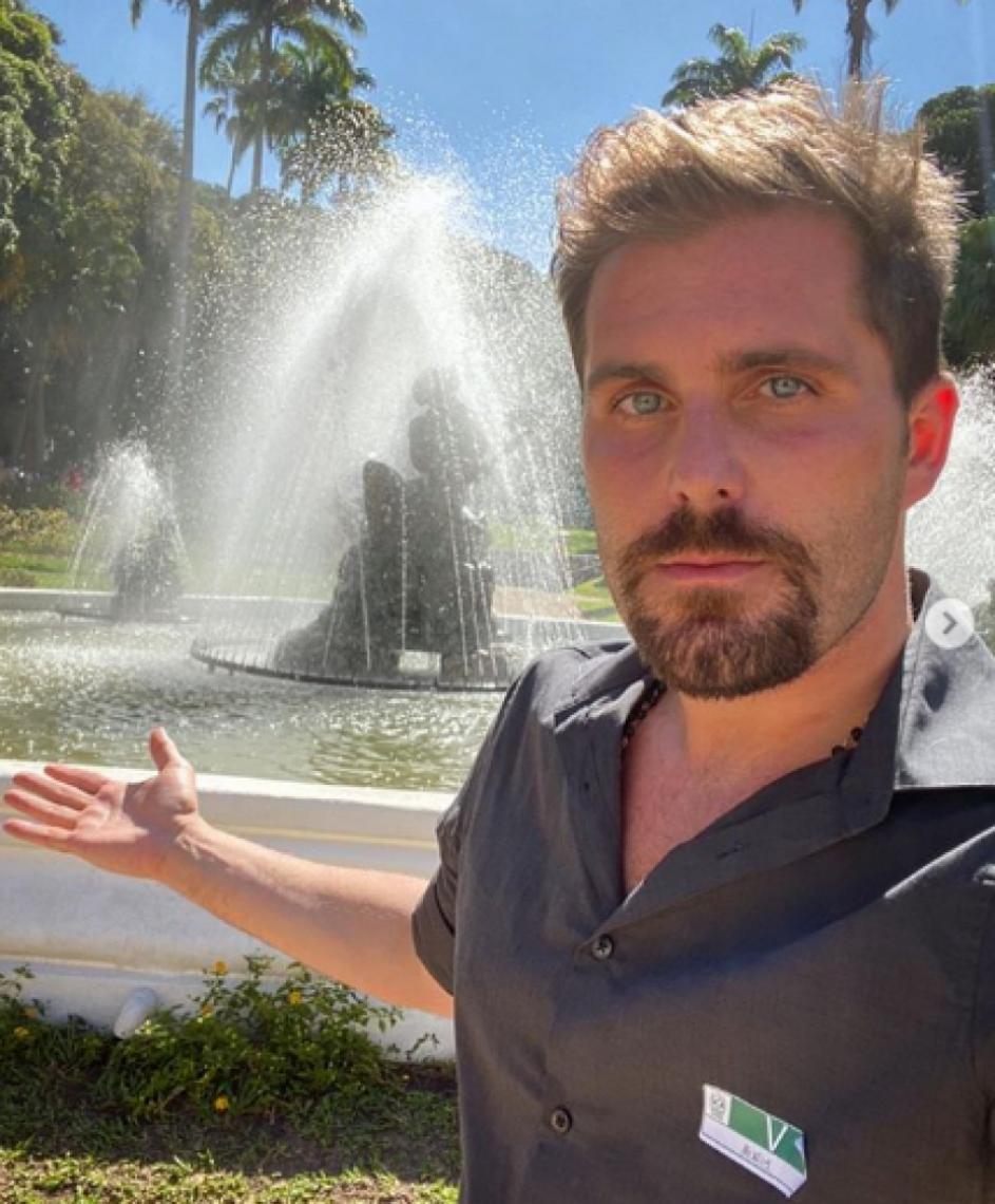 Irmão de Gagliasso cancelou viagem à Europa por prevenção ao coronavírus