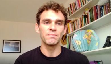 Emídio Sanderson em vídeo sobre edital