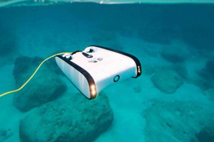 Veículo submarino remotamente controlado vai ajudar a monitorar o Parque Estadual Marinho da Pedra da Risca do Meio