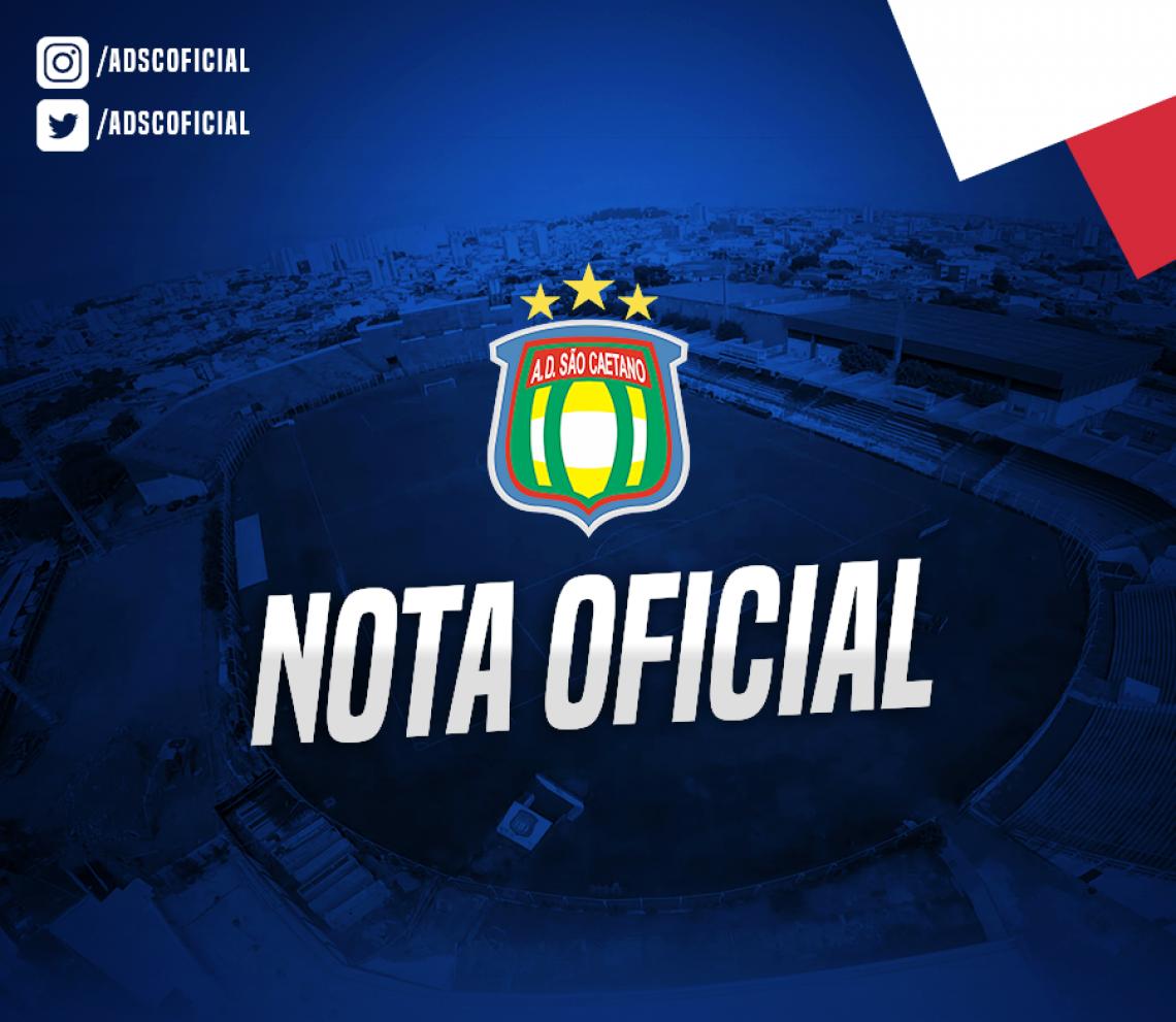 Equipe lançou nota oficial em seu site e redes sociais nesta quarta
