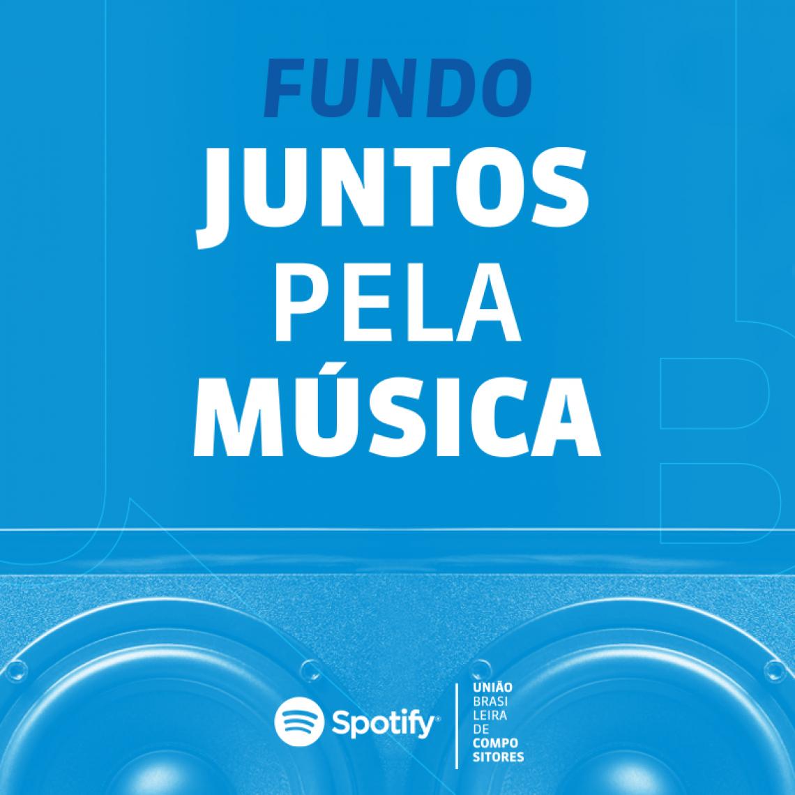 O fundo Juntos Pela Música tem apoio de diversos artistas