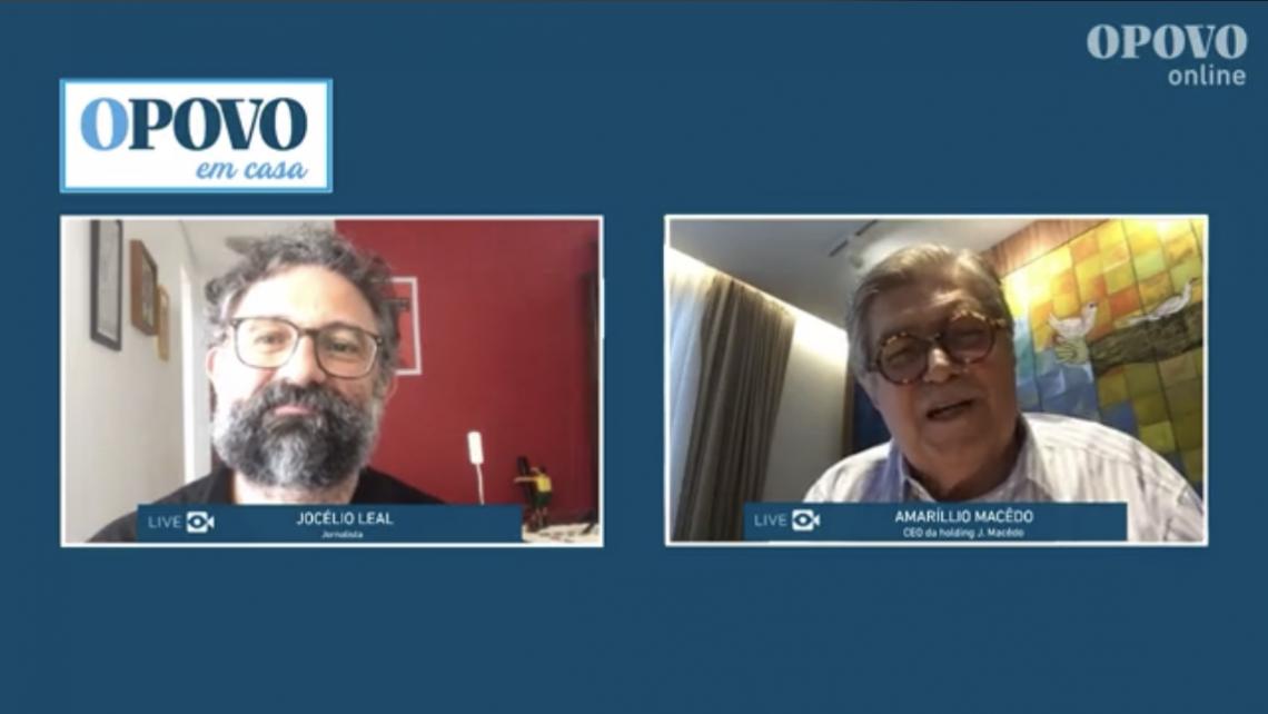 Amarílio conversou com o redator do Blog, Jocélio Leal