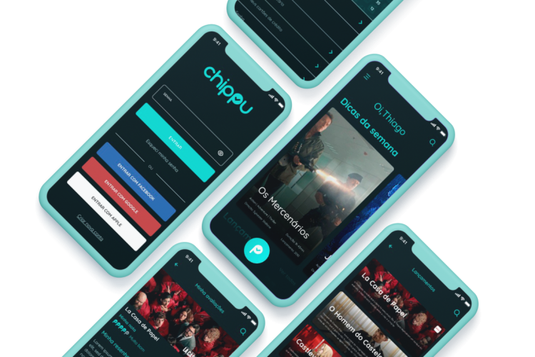 Aplicativo traz dicas personalizadas de séries e filmes (Foto: Divulgação/Chippu)
