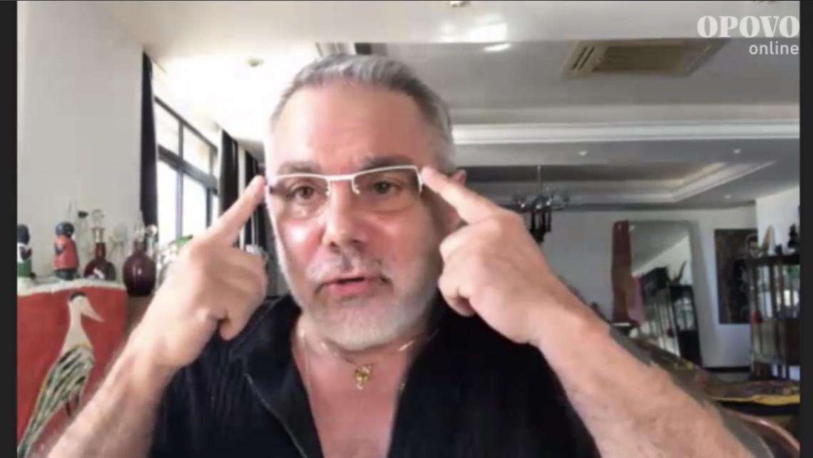 Lino Villaventura conversou com o jornalista Jocélio Leal em live do O POVO on line
