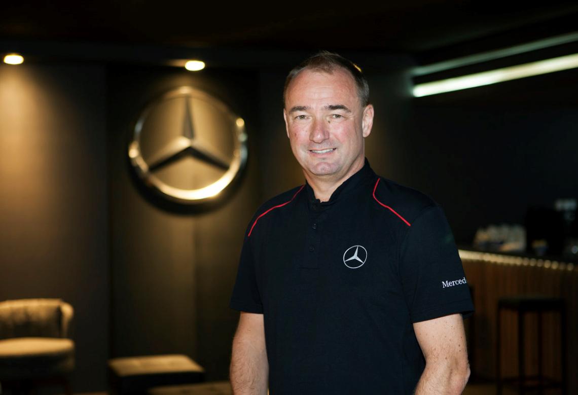Philipp Schiemer, presidente da Mercedes-Benz do Brasil & CEO América Latina, foi nomeado a CEO da Mercedes-AMG