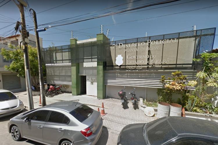 Suspeito de estuprar idosa foi levado ao 7º Distrito Policial (Foto: Reprodução/GoogleMaps )