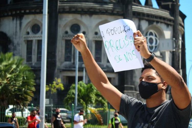 Escolas, bares e academias foram retiradas da 4ª fase da retomada em Fortaleza e ainda estão proibidos de abrir (Foto: Reprodução/Instagram)