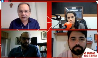 Pré-candidato pelo PSDB à Prefeitura, Carlos Matos em entrevista à rádio O POVO/CBN