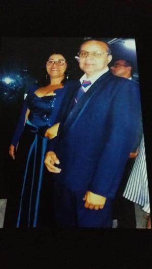 Odeliva Cavalcante e Moisés Santos estavam casados há 29 anos (Foto: Reprodução/JC Imagem)