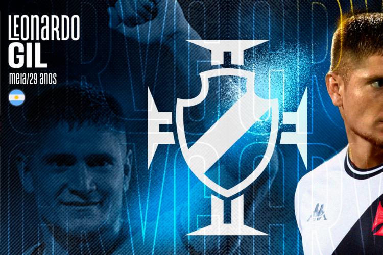 Vasco anuncia a contratação do meia argentino Leonardo Gil (Foto: )