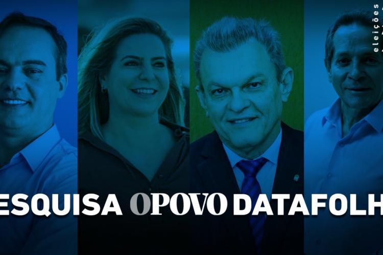 Pesquisa Datafolha para a Prefeitura de Fortaleza (Foto: O POVO)