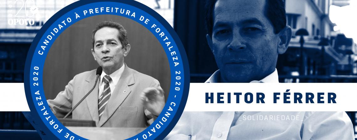 Conheça Heitor Férrer, do Solidariedade (Foto: O POVO)
