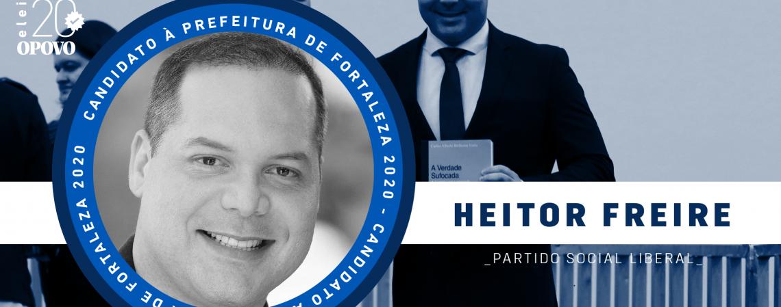 Conheça Heitor Freire, do PSL (Foto: O POVO)