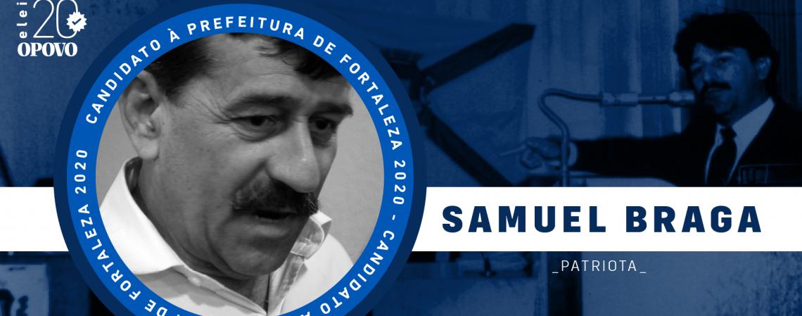 Conheça Samuel Braga, do Patriota (Foto: O POVO)