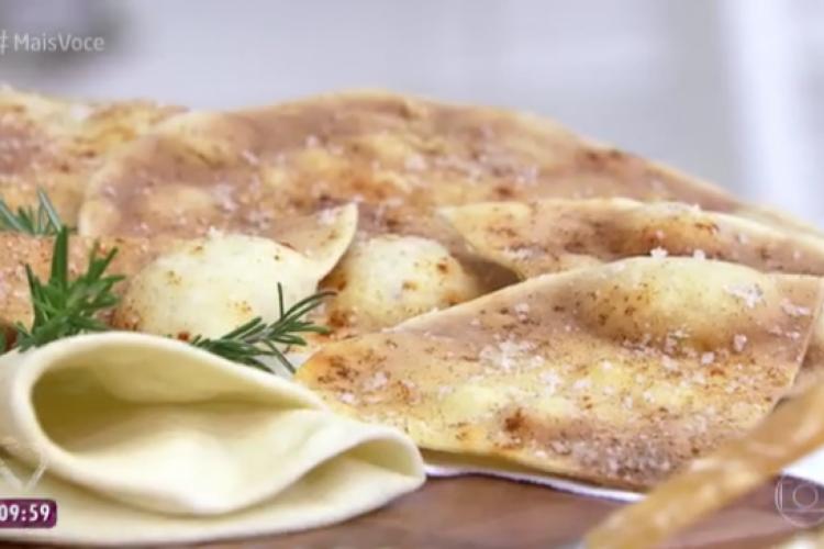 Pão também pode se transformar em torrada (Foto: Reprodução/Tv Globo)