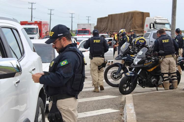 Operação Finados no Ceará terá foco na segurança viária (Foto: Divulgação/PRF)
