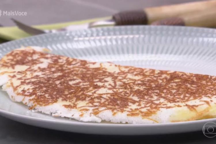 Tapioca já é um prato conhecido entre os cearenses. Mas com queijo fica melhor ainda (Foto: Reprodução/TV Globo)