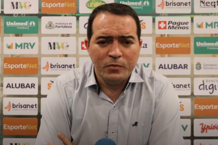 Marcelo Paz explica o que levou o Fortaleza a fechar com Juan Pablo Vojvoda  (Foto: TV Leão/ Reprodução)