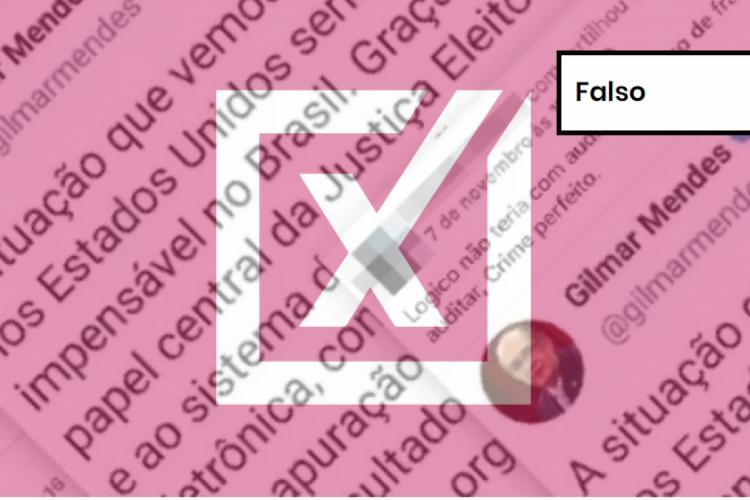 """Post em grupo de Facebook afirma que as urnas eletrônicas não podem ser auditadas, o que seria um """"crime perfeito"""" em caso de fraude (Foto: Reprodução)"""
