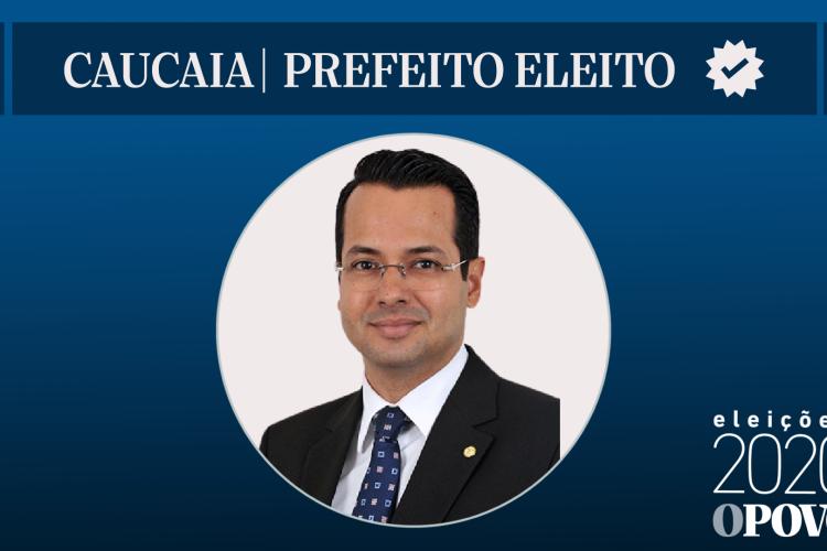 Vitor Valim é eleito a prefeito de Caucaia (Foto: Reprodução)