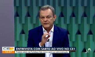 José Sarto concedeu entrevista à TV Verdes Mares nesta segunda-feira