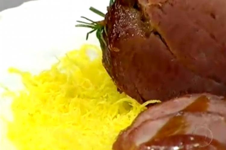 Fios de ovos foi apresentada hoje, 08/12, no Mais Você por Ana Maria Braga (Foto: Reprodução/TV Globo)