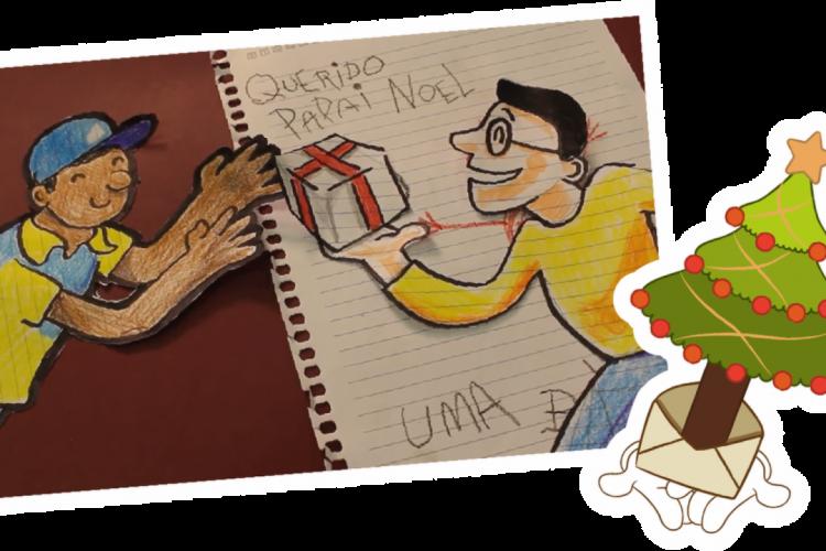 A iniciativa contempla cartas enviadas por crianças de até 10 anos de idade (Foto: Divulgação/Correios)