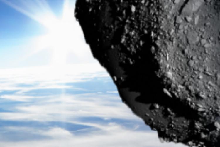 Centro da agência americana estuda quais objetos, tais como asteroides, estão próximos da Terra (Foto: CNEOS/Nasa)