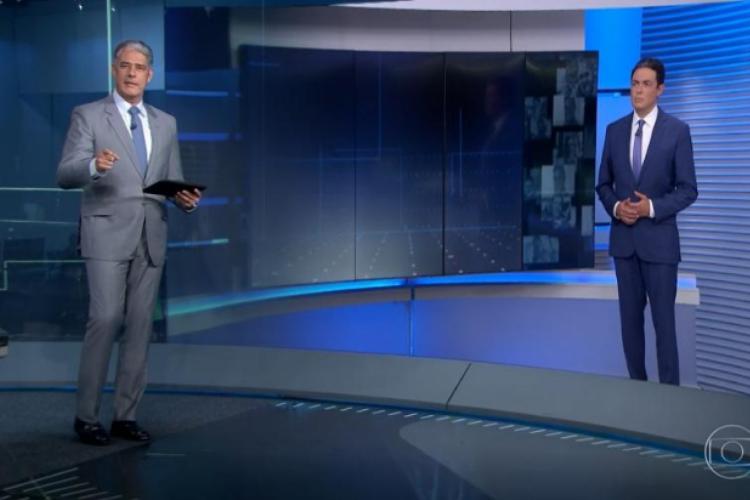 Jornalista pediu atenção aos telespectadores (Foto: Reprodução/TV Globo)