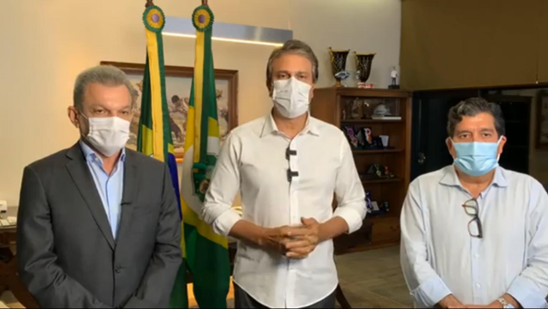 Participarão do encontro o governador Camilo Santana, o prefeito de Fortaleza, Sarto Nogueira e o secretário da saúde do Ceará, Dr. Cabeto.